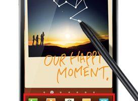 Facebook muestra un Galaxy Note con la supuesta actualización de ICS