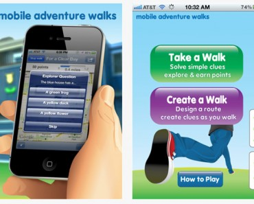 Walk the adventure, Geocaching para el iPhone