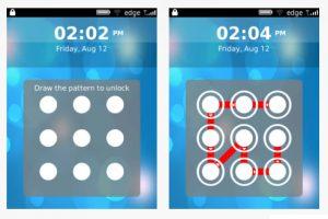 Pattern Lock, bloqueo táctil para el Blackberry Torch