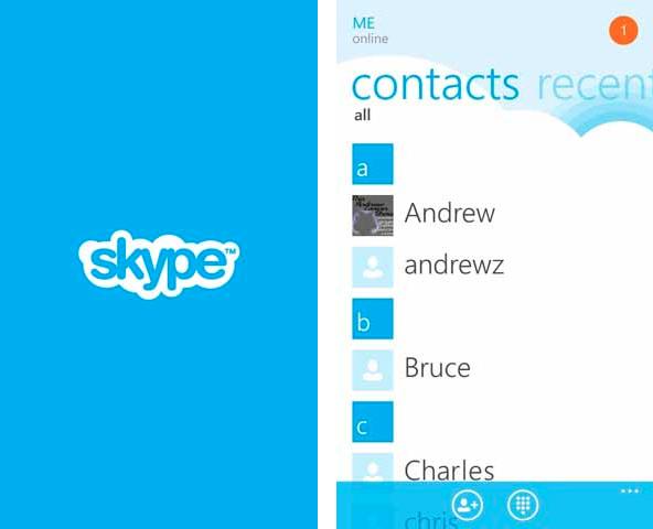 Skype 1.0 ya se encuentra disponible en el Windows Phone Marketplace
