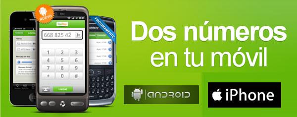 FonYou, número de teléfono virtual gratuito para controlar las llamadas y hacer llamadas internacionales a coste local