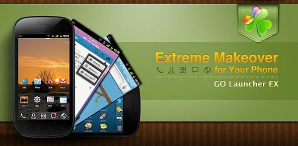 GO Launcher EX para Android,  personaliza tu Android al máximo