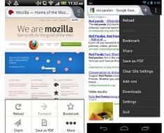 Firefox beta 14 nueva versión disponible para Android