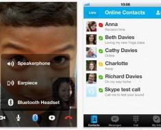 Skype para iOS, nueva actualización para el iPhone y iPad