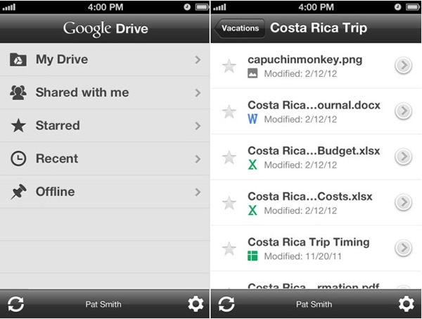 Descargar Google Drive para iOS