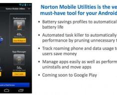 Symantec presenta dos nuevas aplicaciones para móvil. Mobile Utilities 2.0 y Hotspot Privacy
