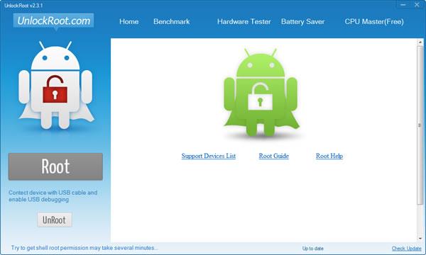 Unlock Root, rootear Android. Esperamos unos minutos