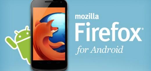Mozilla anuncia Firefox 14 para Android con una nueva interfaz
