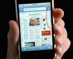 La barra de desplazamiento que desaparece ha sido patentada por Apple