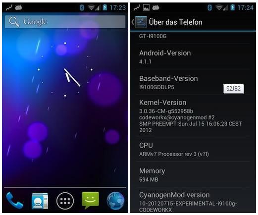 Instalar Jelly Bean CyanogeMod 10 en el Samsung Galaxy S2