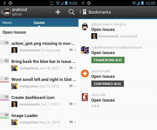 GitHub para Android lanzado de forma oficial