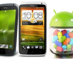 Android Jelly Bean disponible para los HTC One X, One S y One XL