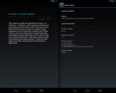 Google Nexus 7 y el Galaxy Nexus actualizado a la versión 4.1.1 de Android