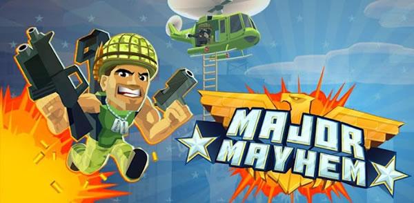 Major Mayhem para Android, juego de acción al estilo Tap and Shoot