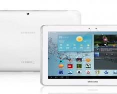 Samsung Galaxy Tab 2 disponible en España a finales de este mes