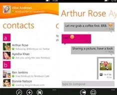 Nimbuzz Messenger: La mensajería instantánea multiplataforma llega a Windows Phone