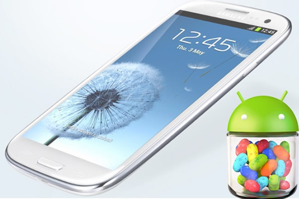 Jelly Bean Samsung Galaxy S III