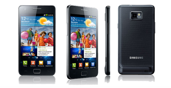 Samsung Galaxy S II a Android 4.1 Jelly Bean
