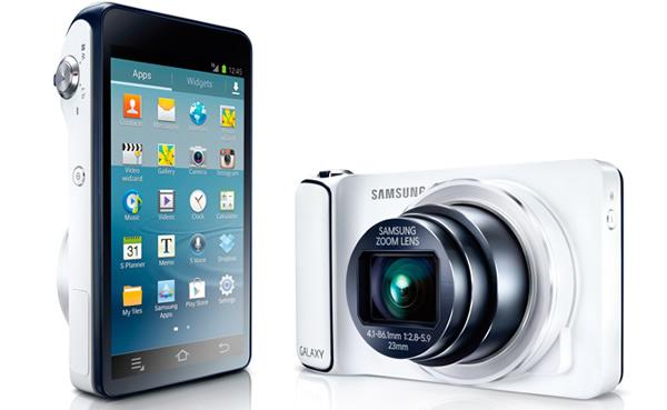 Samsung lanza oficialmente la Galaxy Camera con Android