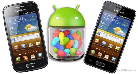 Samsung Galaxy S2 Lite y el Ace 2 se actualizarán directamente a Android 4.1 Jelly Bean