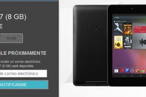 Google Nexus 7 de 8GB dejo de estar disponible en Google Play Store