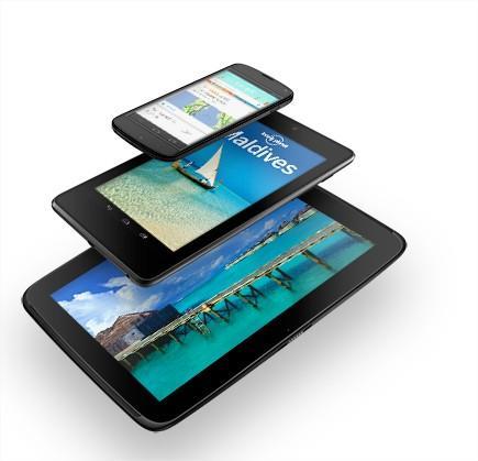 Google actualiza la Nexus 7 y anuncia de forma oficial el Smartphone Nexus 4 y la Tablet Nexus 10
