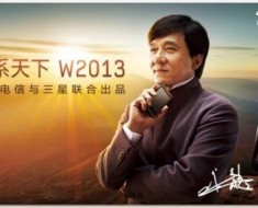 Samsung SCH-W2013, el Smartphone de Jackie Chan