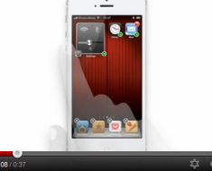 ¿Cómo sería el iPhone si tuviera los iconos animados y de tamaño variable?