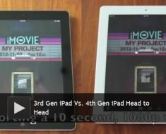 iPad 4 vs iPad 3: diferencias entre el rendimiento entre de los dos gadgets