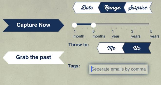 ThrowBack para iOS – aplicación muy similar a una capsula del tiempo para fotografías