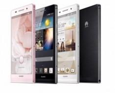 Huawei Ascend P6, el smartphone más delgado del mundo