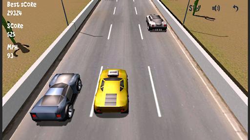 Lane Racer 3D, pon a prueba tus reflejos en este juego de coches