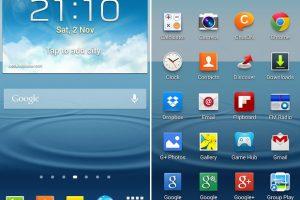 Samsung Galaxy S3 recibe recibe la versión de Android 4.3 Jelly Bean