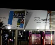 Anuncio en las afueras del CES revela el Samsung Galaxy Tab Pro y el Galaxy Note Pro