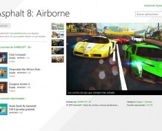 Asphalt 8: Airborne gratis para Windows 8 y Windows Phone 8
