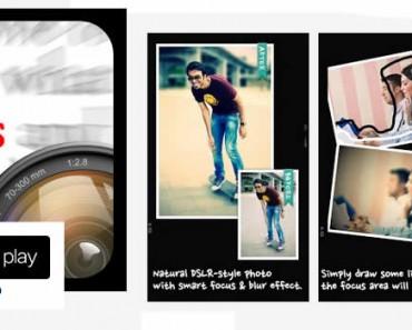 AfterFocus, una app Android para hacer retoque fotográfico