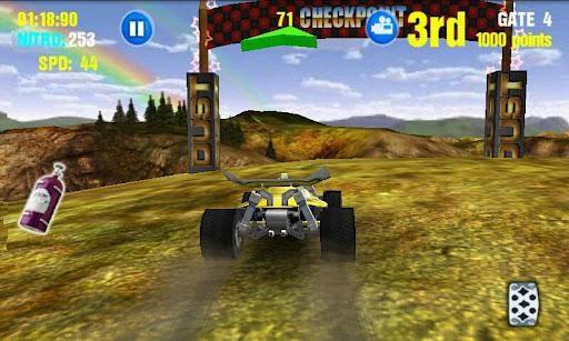Dust: Offroad Racing, juegos de carreras 3D para Android