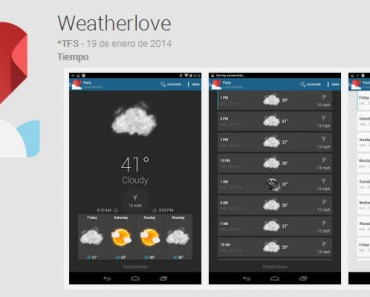 Aplicaciones android gadget m vil for Widget tiempo android