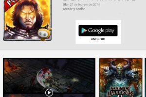 Juegos para Android ETERNITY WARRIORS 2