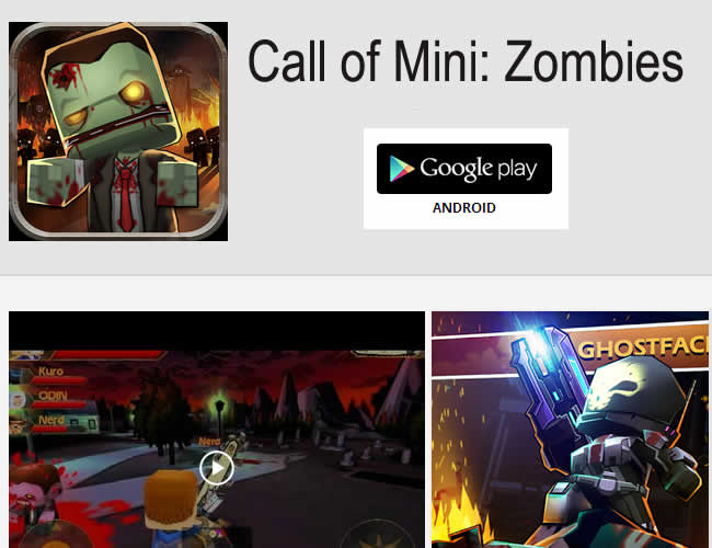 juego para android de zombies