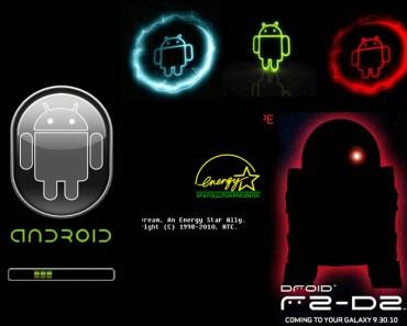 Cambiar animación inicio de Android